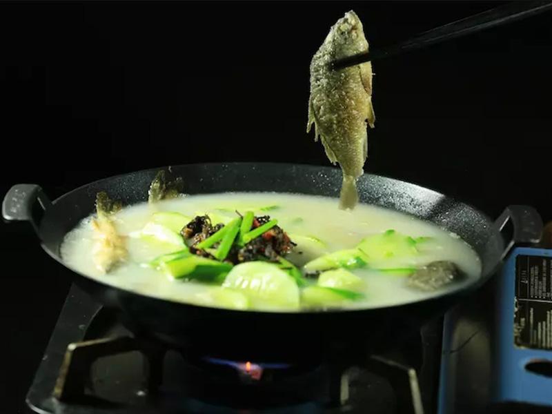 青瓜石斑魚溪魚鍋仔(斤)