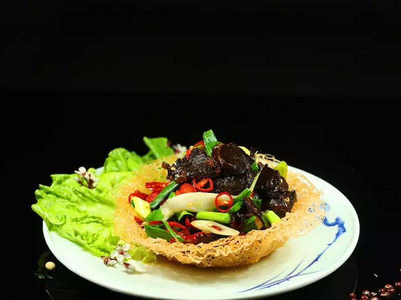 小炒醬油牛肉