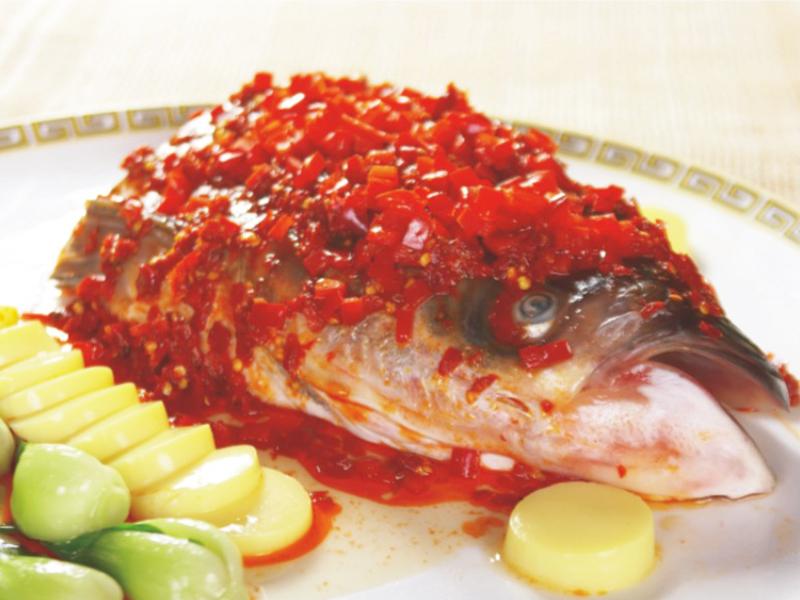 剁椒千峽湖魚頭(半只)