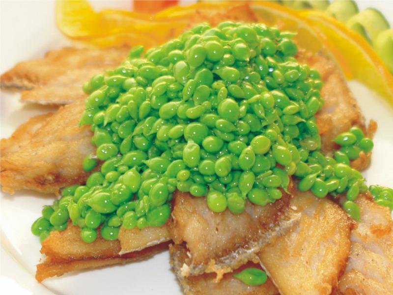 甜豆煎帶魚