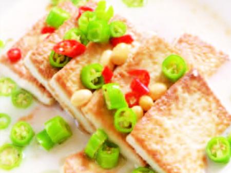 畬山煎豆腐