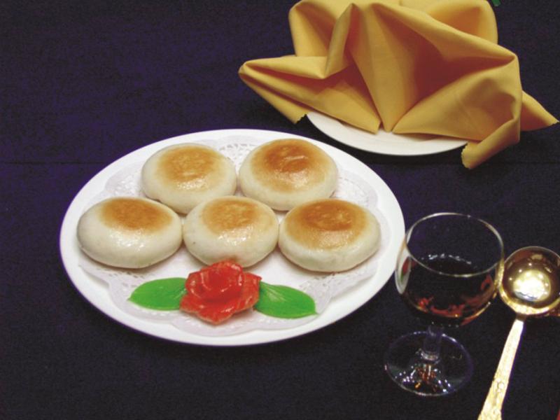 蟹黃鮮肉餡餅(只)