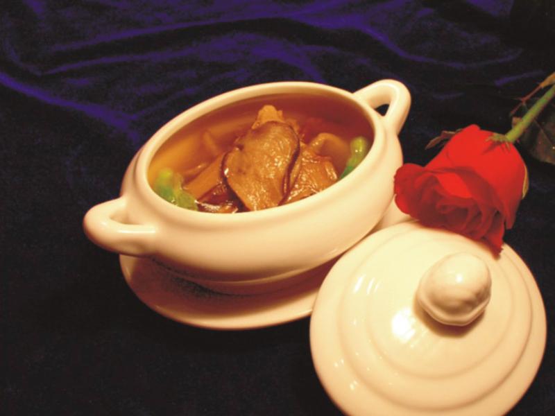 雞汁黃錢菇(位)