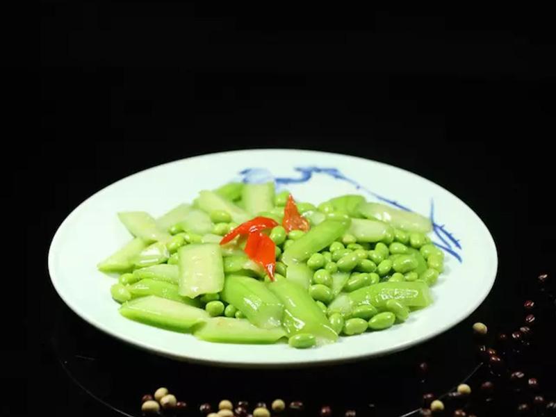 絲瓜毛豆子