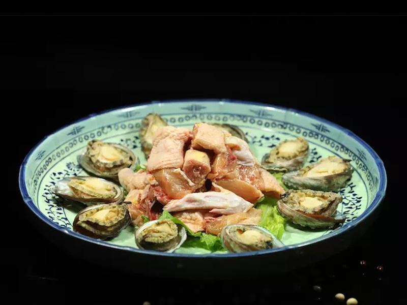 生燙土雞鮑魚(10只)