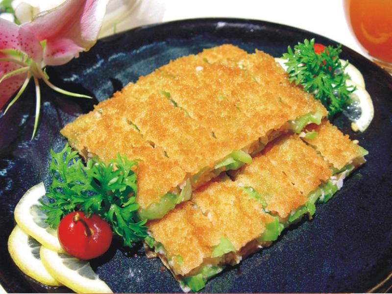 鍋貼小棠菜